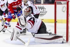 Coyotes score 2 power-play goals in 4-1 win over Capitals