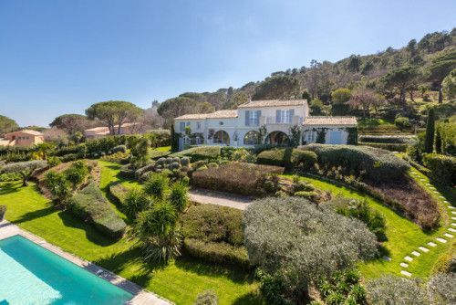 Contemporary Seafront Villa in St TropezBeautiful landscaped
