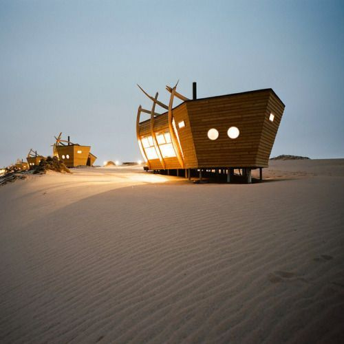 Sleep in a Shipwreck Amidst the Sweeping Dunes of Namibia's