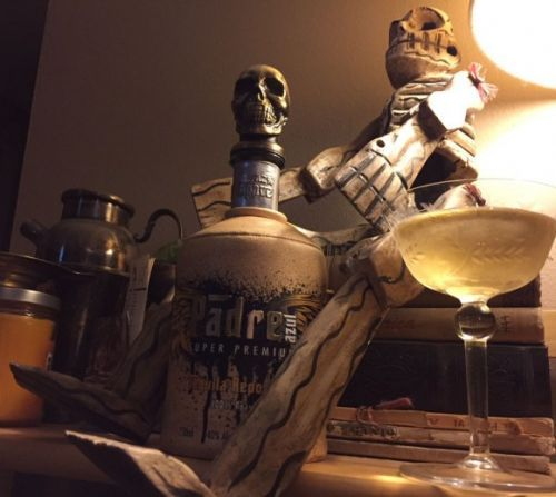 What I'm Drinking: Skull Sweets with Padre Azul Reposado Tequila