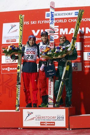Daniel Andre Tande wins 1st title at ski flying Worlds