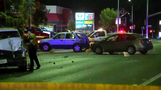 Several injured in multi-vehicle crash in Citrus Heights