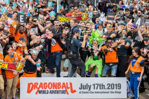 Fans Impressively Break the Kamehameha World Record at San Diego Comic-Con