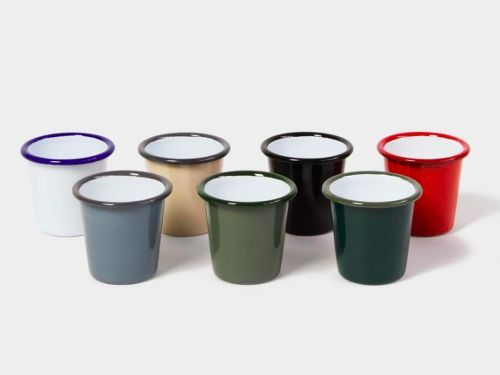 Tiny Enamel Cups Are the Drinkware You Didn't Know You Needed Until Now