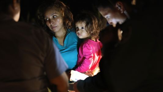 Youngest migrants held in 'tender-age' shelters