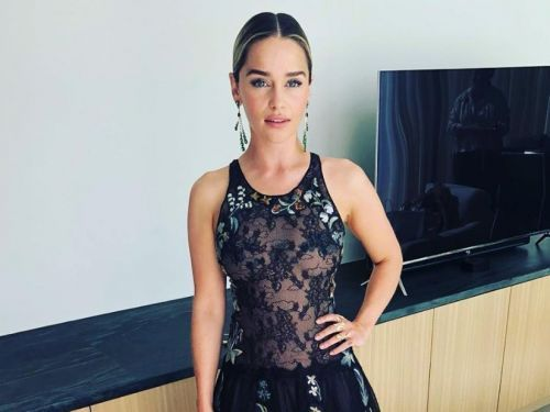 'Game of Thrones' star Emilia Clarke ditched her platinum hair before the Emmys