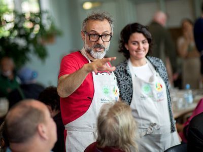 How Massimo Bottura Convinced 60 World-Class Chefs to Launch a Soup Kitchen