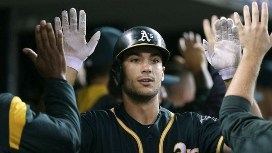 A's Matt Olson makes up for lost time with home run binge