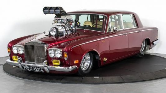 I Would Buy This Modified 1974 Rolls-Royce Silver Shadow For $113,000, Sure