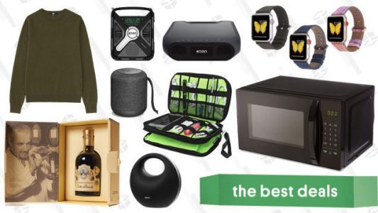 Wednesday's Best Deals: Weighted Blankets, Uniqlo Cashmere, Balsamic Vinegar, and More