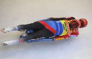 Eggert, Benecken defend overall luge World Cup title