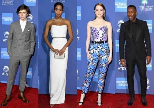 Emma Stone, Laura Harrier and More Kicked off Awards Season in Style