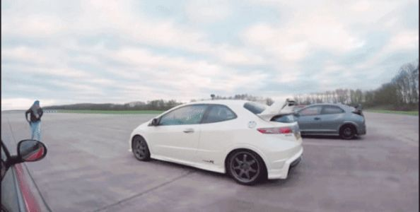 Find Out Which Honda Civic Type R Is The Drag Racing Champion