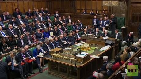 WATCH LIVE UK parliament debates no confidence vote in Prime Minister May's govt