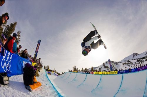 Here's How Snowboard Half-Pipes Are Made for the Winter Olympics
