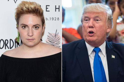 Lena Dunham compares Trump to Dylann Roof in deleted tweet