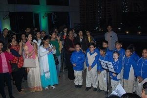 Hyatt Regency Lucknow Ushers In Christmas Celebrations With Traditional Tree Lighting Ceremony