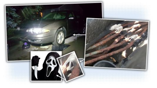 Replacing Rusty Brake Lines on a $1 Oldsmobile Alero Was Hell