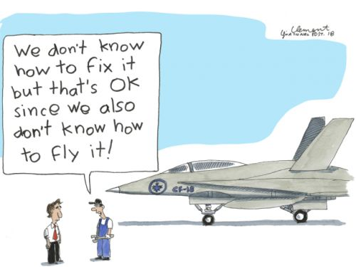 John Ivison: Auditor General shoots down federal government's fighter jet follies