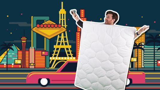 Why A Man Dressed As A Mattress Needed To Win A $9 Million Sports Bet