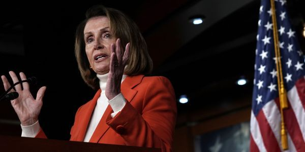 Nancy Pelosi says funding for Trump's 'immoral, ineffective, expensive' border wall is off the table