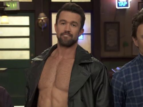 Rob McElhenney got really honest about what it takes to stay fit in an Instagram post