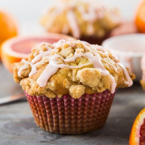 Blood Orange Crumb Muffins