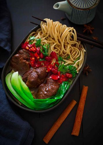 Cozy Oxtail and Beef Noodle Soup