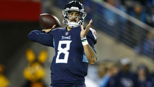 Mike Vrabel discusses Marcus Mariota's future with Titans