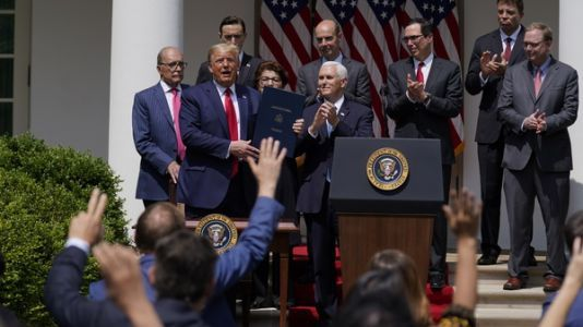 Trump Signs Small Business Loan Program Extension