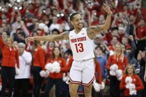 Muhammad scores 22, No. 25 Ohio State tops No. 7 Maryland