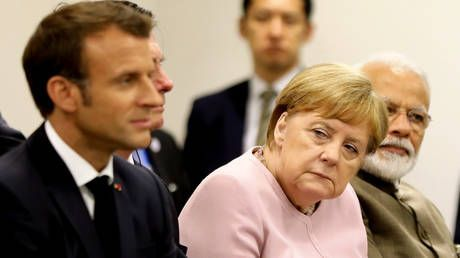 Macron bemoans 'failure' of EU leadership all-night summit, while Merkel urges patience