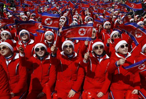 North Korea's Winter Olympics cheer squad are being forced into sexual slavery, according to a defector