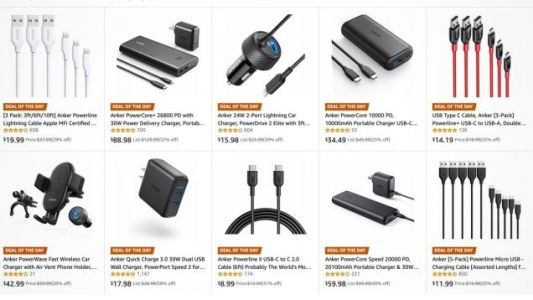 Amazon's Anker Gold Box Is Overflowing With Charging Gear, Including USB-C Batteries