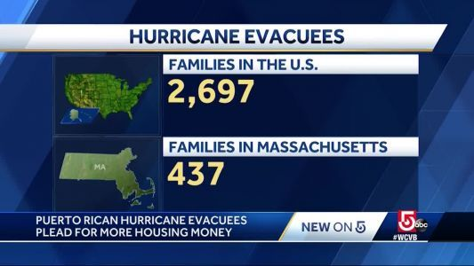 Puerto Rican hurricane evacuees plead for more housing money
