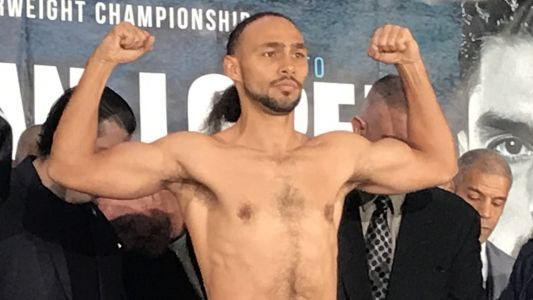 Here's how Keith Thurman's first weigh-in day in 22 months went