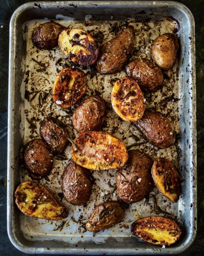 Herbed Potatoes with Whole-Grain Mustard