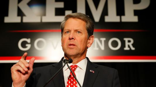 In Georgia, Kemp Claims Victory, But Won't Oversee Potential Recount