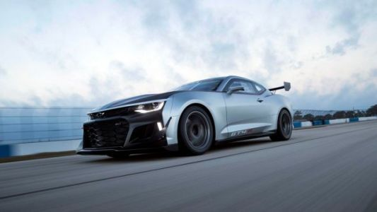 The Ultra-Angry Chevrolet Camaro GT4.R Race Car Is Now Available To Us Mere Mortals For $259,000