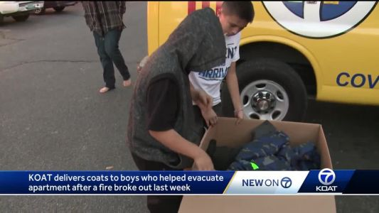 Good deed didn't go unnoticed for three young boys