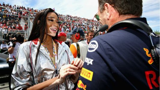 Supermodel's flag mistake ends Canadian Grand Prix early