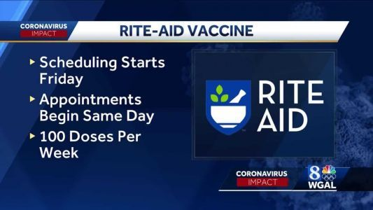 Susquehanna Valley-based Rite Aid among pharmacies receiving COVID-19 vaccine