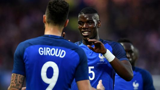 'Special Pogba needs patience' - Giroud expects big things from Man Utd's 'huge talent'