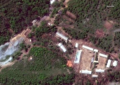 North Korea demolishes what it says is nuclear test site