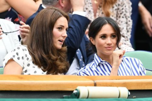 Meghan Markle and Kate Middleton Make a Dynamic Duchess Duo at Wimbledon