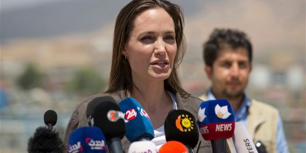 Angelina Jolie dropped a big hint that she might run for president