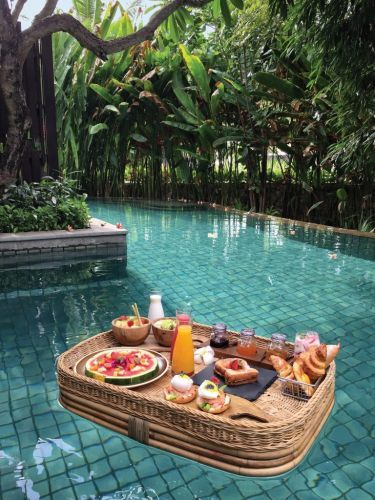 Is This The Most Beautiful Hotel Breakfast?