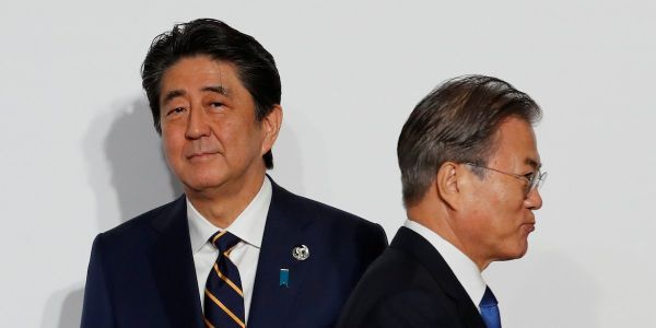 South Korea ramps up trade war with Japan by ending intelligence-sharing pact, potentially stripping it of vital information about North Korea