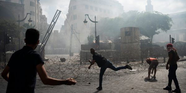 Police and protesters clashed in Lebanon amid fiery demonstrations criticizing the government for the Beirut explosion