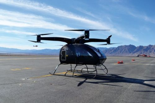 The New Personal Helicopter by SureFly